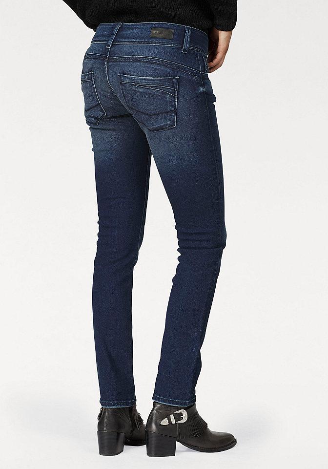 Cross jeans® Cross Jeans® Rifle ve střihu Skinny tmavě modrá - délka 34 32