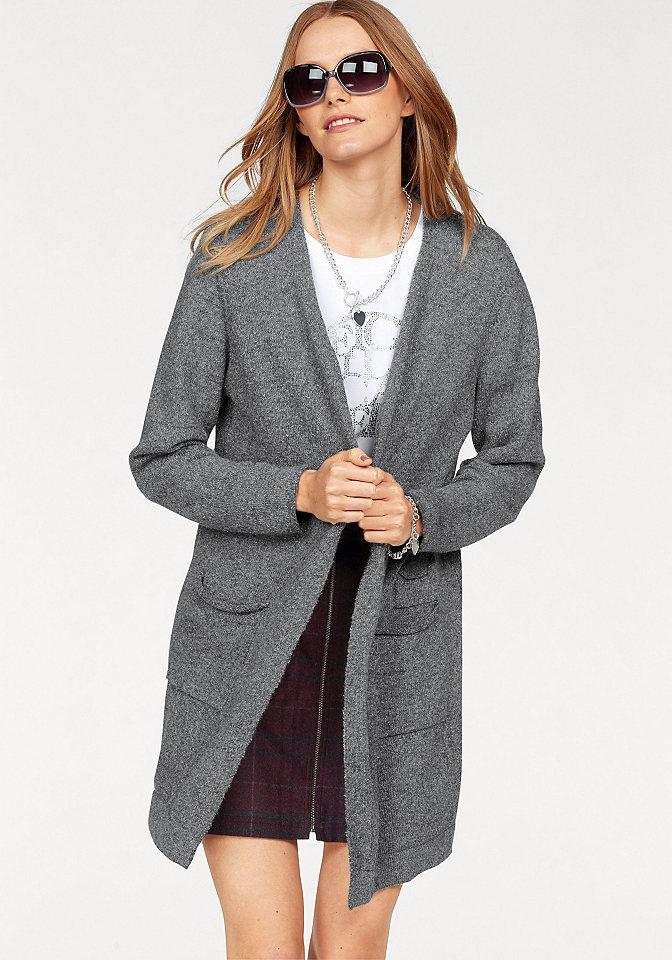 CLAIRE WOMAN Dlouhý pletený svetr