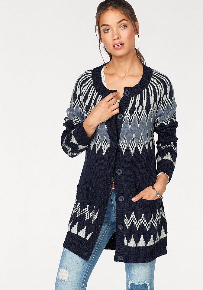 AJC Žakárový pletený svetr