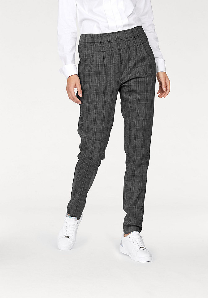 Claire woman CLAIRE WOMAN Kalhoty kostkovaná - standardní velikost 46 (L)