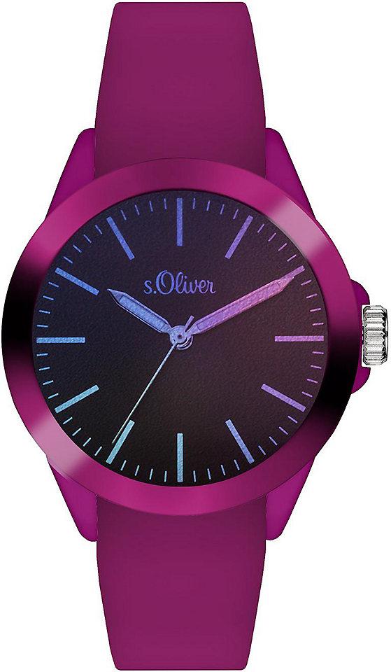 s.Oliver RED LABEL Náramkové hodinky Quarz »SO-3433-PQ«
