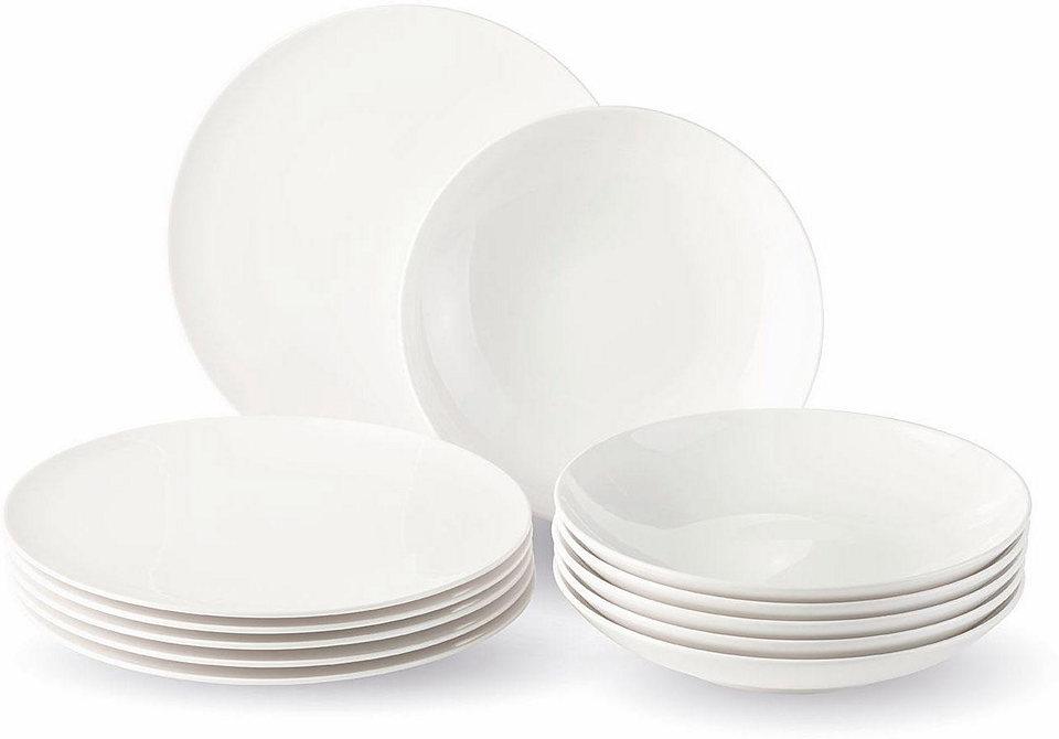 Villeroy & Boch Jídelní souprava, porcelán, 12-dílná »New Fresh Basic«