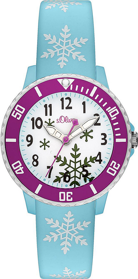 s.Oliver RED LABEL Náramkové hodinky Quarz »SO-3411-PQ«