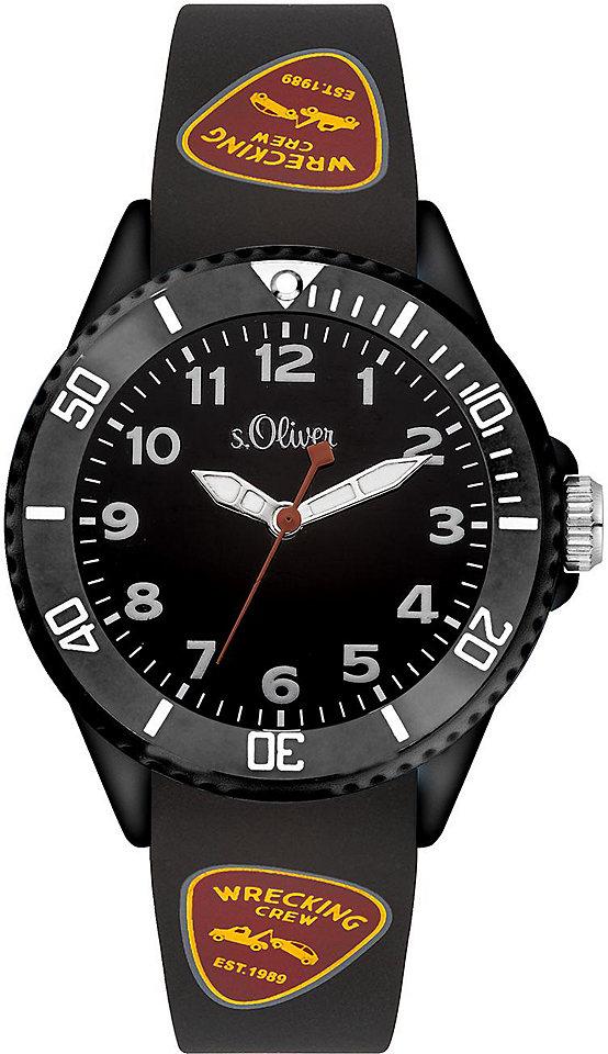 s.Oliver RED LABEL Náramkové hodinky Quarz »SO-3409-PQ«