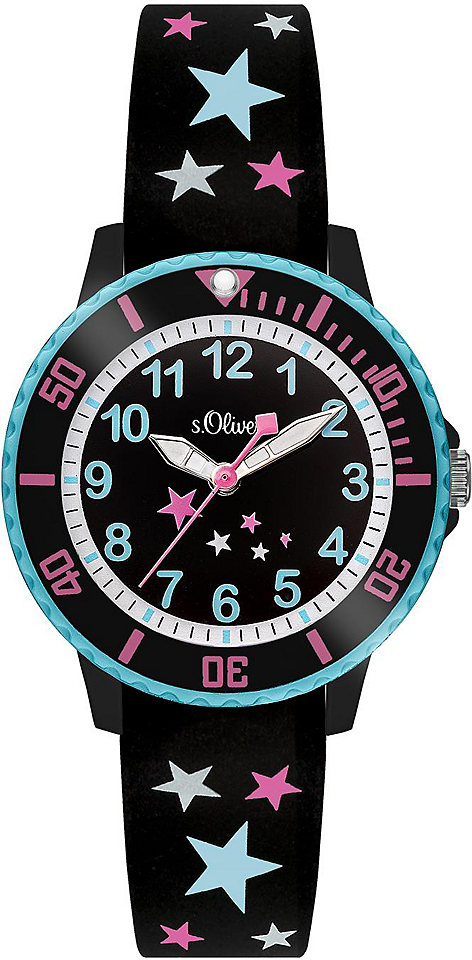 s.Oliver RED LABEL Náramkové hodinky Quarz »SO-3406-PQ«