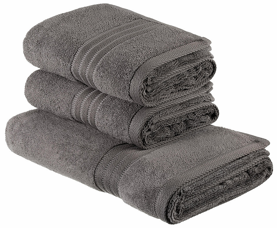 Souprava ručníků, my home Selection »Softie« s bordurou