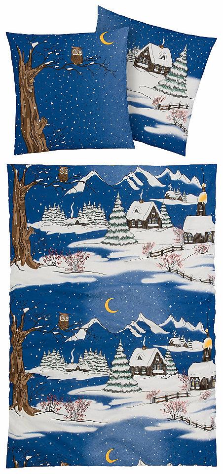 Ložní prádlo »zimní vesnička« my home