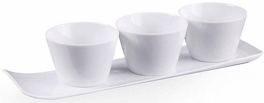 VIVO VILLEROY & BOCH GROUP Servírovací sada, porcelán, 4-dílná »NEW FRESH COLLECTION«