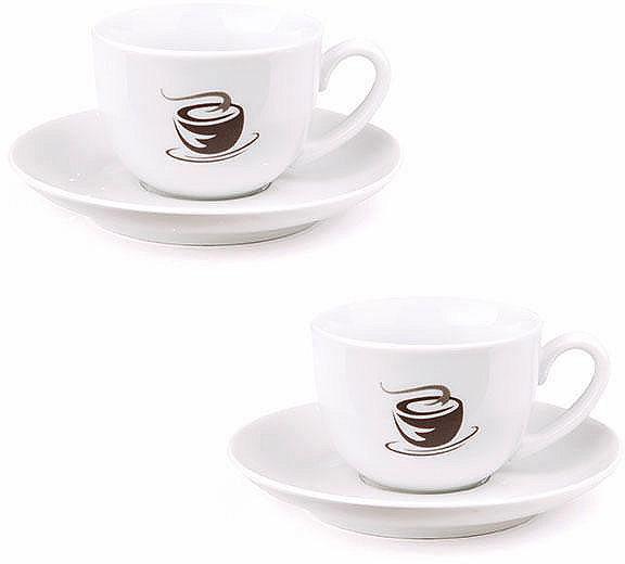 VIVO VILLEROY & BOCH GROUP Sada šálků na espresso, porcelán, 4-dílná »HOT BASICS«