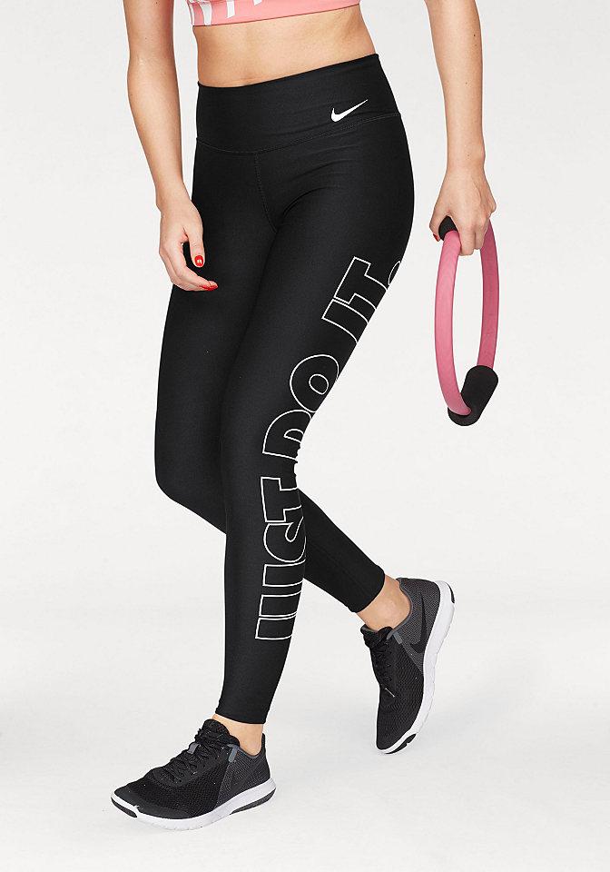 Nike Sportovní legíny »W NIKE POWER TIGHT POLY JUST DO IT GRX«