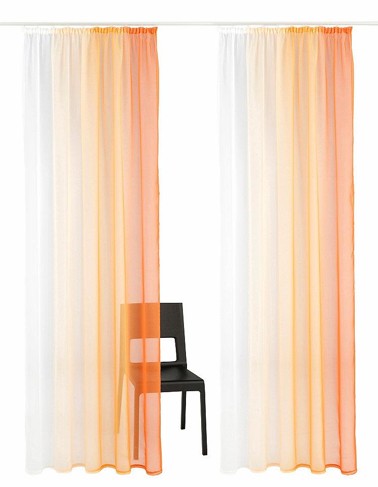 Záclona, my home »Valverde« řasící stuha (2 ks)
