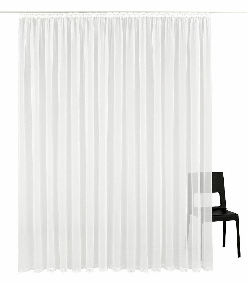 Krátká záclona, my home »Missy« řasící stuha