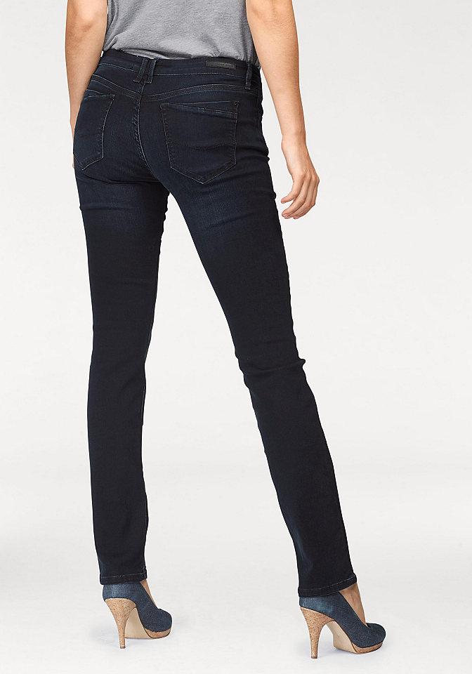 Cross jeans® Cross Jeans® Elastické rifle modročerná - délka 32 32