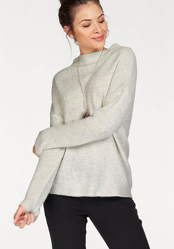 Tom Tailor Tom Tailor Pletený pulovr jahodový melír - standardní velikost XL (42)