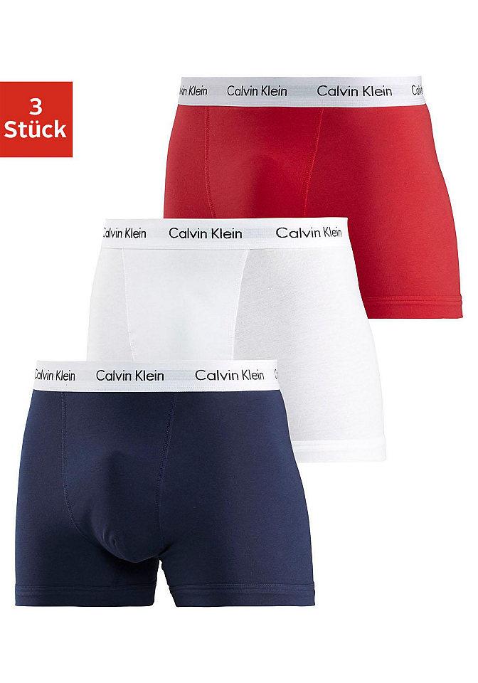 Calvin Klein Boxerky, Calvin Klein 3x bílá XL (7)