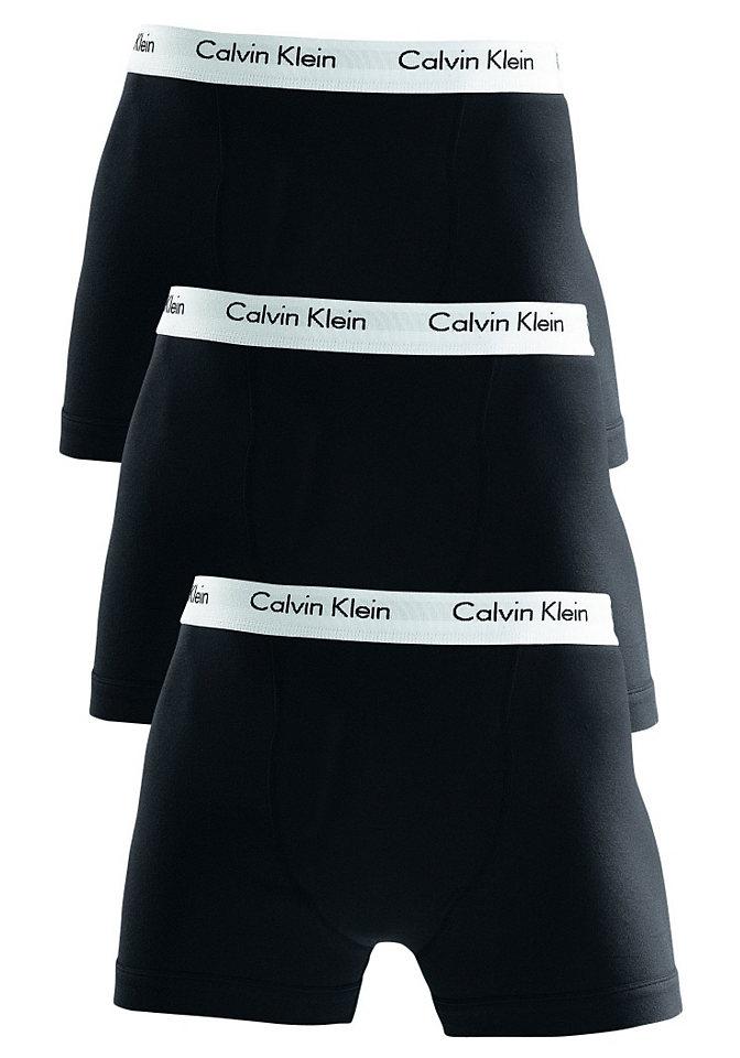 Calvin Klein Boxerky, Calvin Klein 3x bílá L (6)