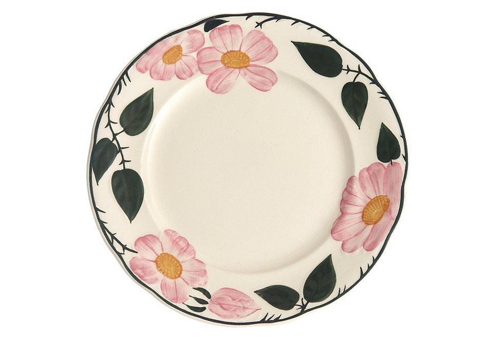 Snídaňové talíře, Villeroy & Boch »divoká růže« (2 ks)