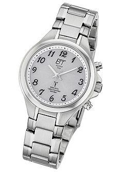 ETT Náramkové hodinky, výrazný ciferník. »ELS-11180-12M«