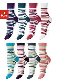 Proužkované ponožky