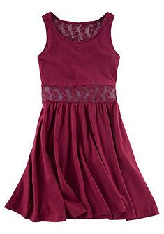 Petite Fleur ruha csipkebetéttel, lányoknak