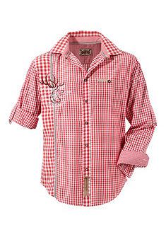 Stockerpoint Krojová košeľa s krátkymi rukávmi a gombíky vo vzhľade jelenieho parožia