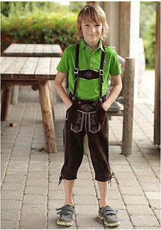 Detské krojové tričko s výšivkou, Spieth & Wensky
