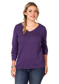 sheego Style Pletený pulóver