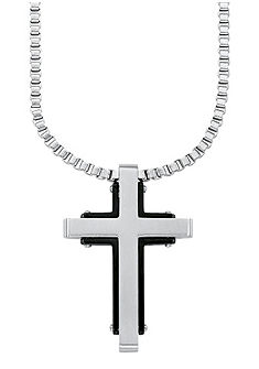 Řetízek s přívěskem »kríž«, »9076956«, s.Oliver