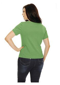 Póló szögletes nyakkivágással
