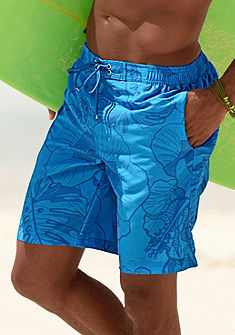 Šortkové plavky, s celoplošnou potlačou Chiemsee