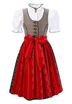 Dětský kroj, sukně s potiskem květin, Turi Landhaus (3 dílný set)