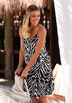 Beachtime Plážové šaty so zvieracou potlačou