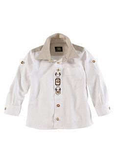 Dětská krojová košile s výšivkou, OS-Trachten