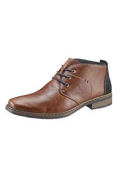 RIEKER fűzős magasszárú cipő béléssel