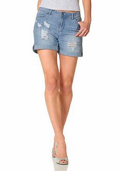 Aniston farmer rövidnadrág»koptatott hatású«