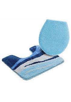 Koupelnový kobereček, my home »vlny« výška 25mm, protiskluzová zadní strana