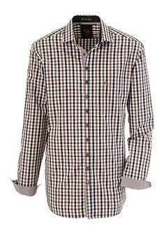 Krojová košeľa v kockovanom dizajne, OS-Trachten