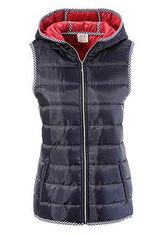 Krojová vesta s kapucí