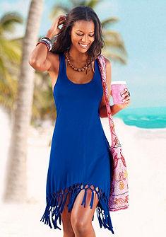 Beachtime Dlouhé tričko s třásněmi na lemu