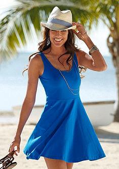 Beachtime Plážové šaty, hlboký zadný výstrih