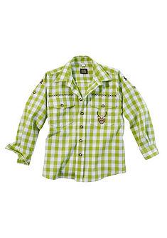 Dětská krojová košile s rukávy na ohrnutí, OS-Trachten