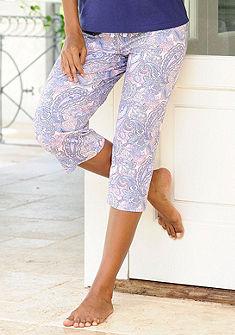 Pyžamavé capri nohavice