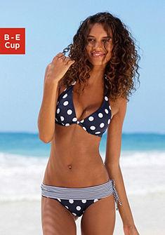 Merevítős mintás bikini nyakpánttal, LASCANA