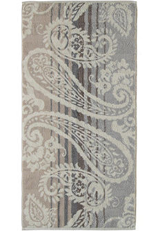 Fürdőlepedő, Cawö, »Noblesse Paisley«, leveles mintával