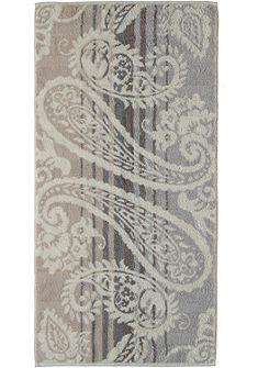 Törölköző, Cawö, »Noblesse Paisley«, leveles mintával