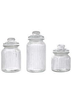 Üveg tároló szett (3db)