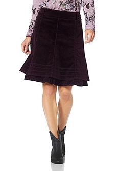 Kordová sukňa