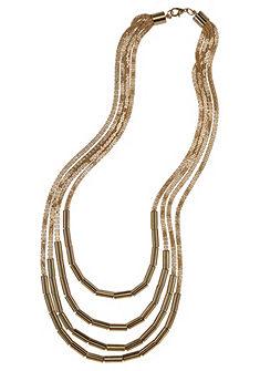 J. Jayz nyaklánc »csillogó szalmagyöngyökkel«