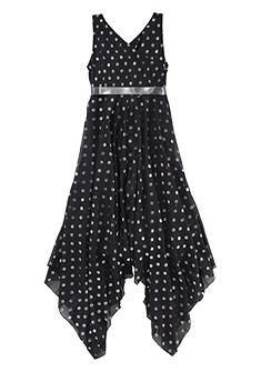 kidsworld Slavnostní šaty se saténovou stuhou (2 ks), pro dívky