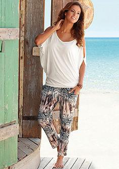 LASCANA Plážové kalhoty s zvířecím potiskem